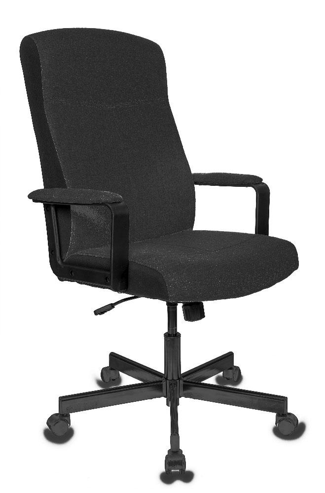 Кресло руководителя Бюрократ DOMINUS-FB черный крестовина металл