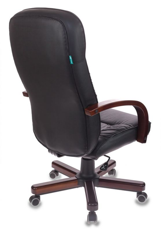 Кресло руководителя Бюрократ T-9908/WALNUT