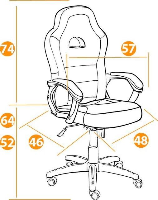 Кресло компьютерное TetChair Шумми Shummy