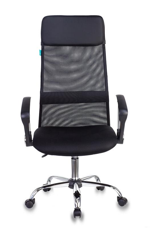 Кресло руководителя Бюрократ KB-6N - Черный Black, Цветная