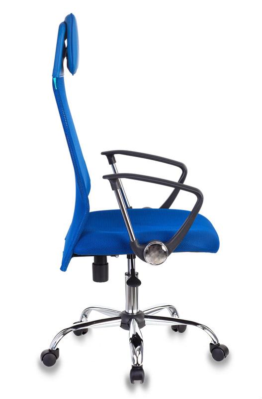 Кресло руководителя Бюрократ KB-6N - Синий Blue, Цветная