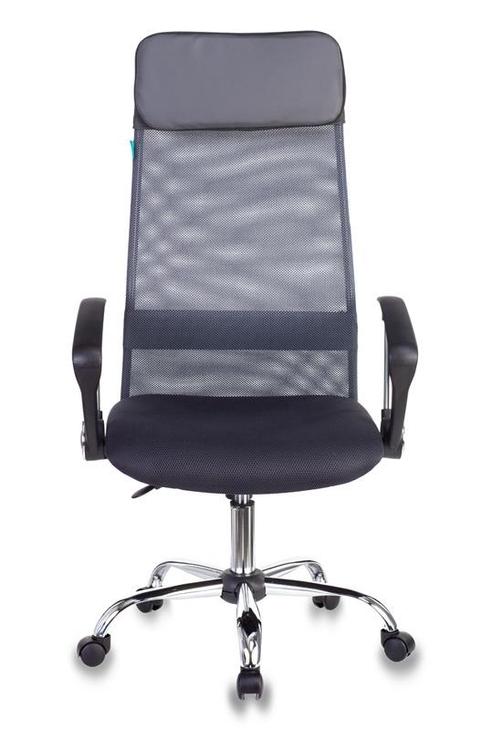 Кресло руководителя Бюрократ KB-6N - Серый grey, Цветная