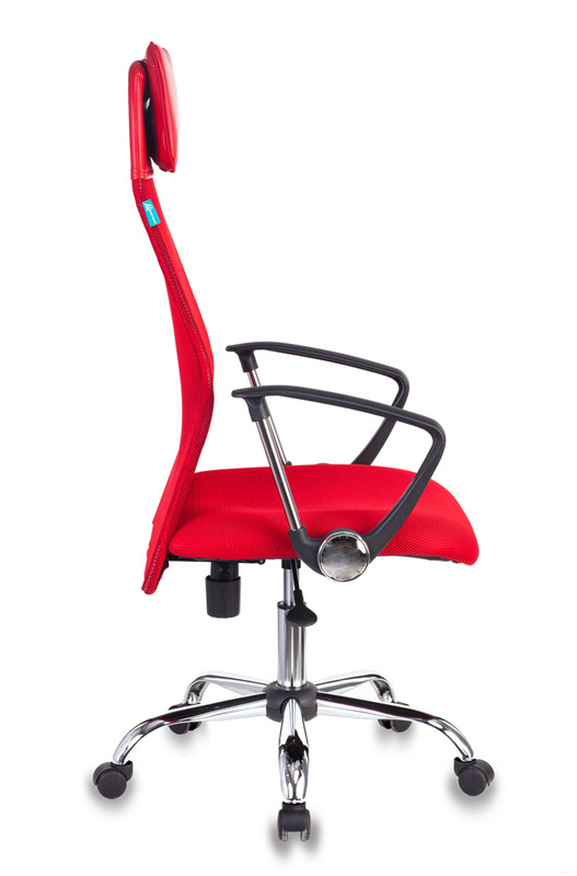 Кресло руководителя Бюрократ KB-6N - Красный Red, Цветная