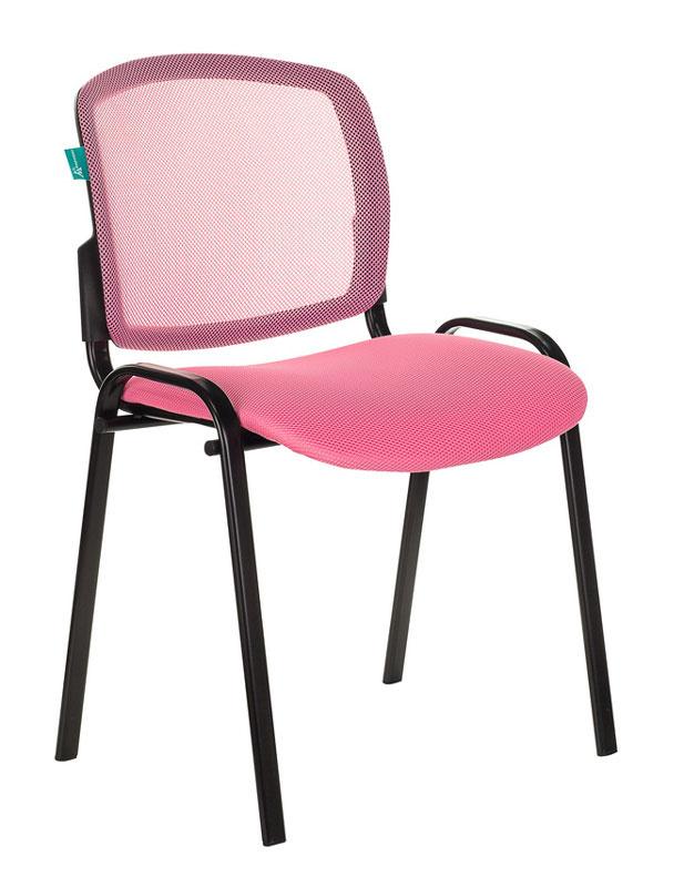 Стул Бюрократ ВИКИ/PK/TW-13A спинка сетка TW-06A сиденье розовый TW-13A