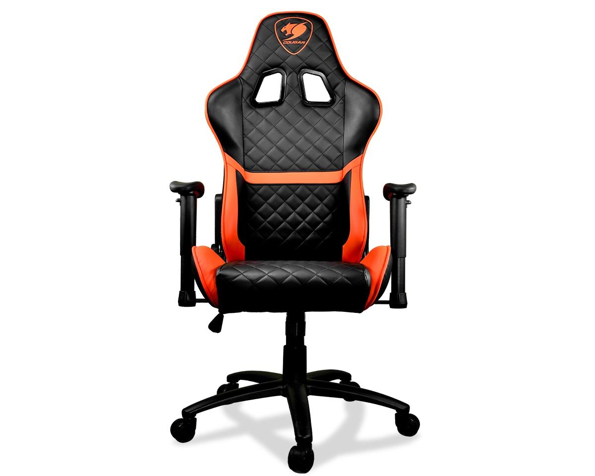 Игровое кресло Cougar Armor ONE черно-оранжевое