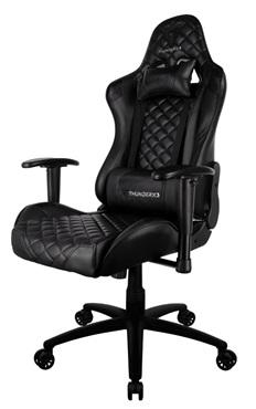 Геймерское кресло ThunderX3 TGC12-B теперь и полностью черное!