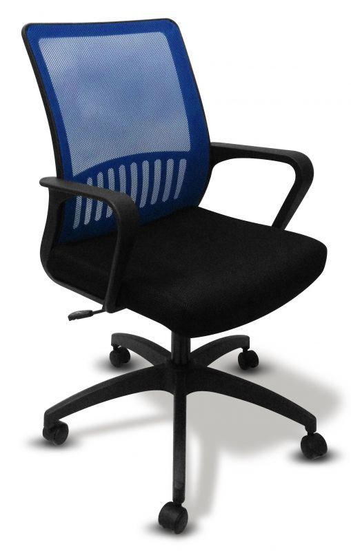 Кресло Бюрократ MC-201/BL/TW-11