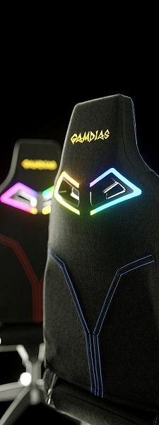 Игровое кресло GAMDIAS HERCULES M1 RGB