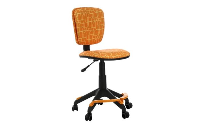 Кресло детское Бюрократ CH-204-F/GIRAFFE оранжевый жираф колеса оранжевый