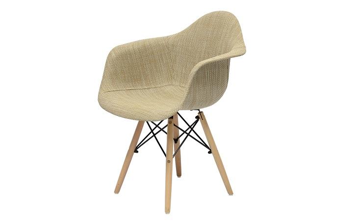 Кресло Barneo N-14 WoodMold Eames style ротанг