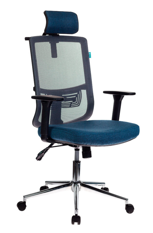 Кресло руководителя Бюрократ MC-612-H/DG/DENIM