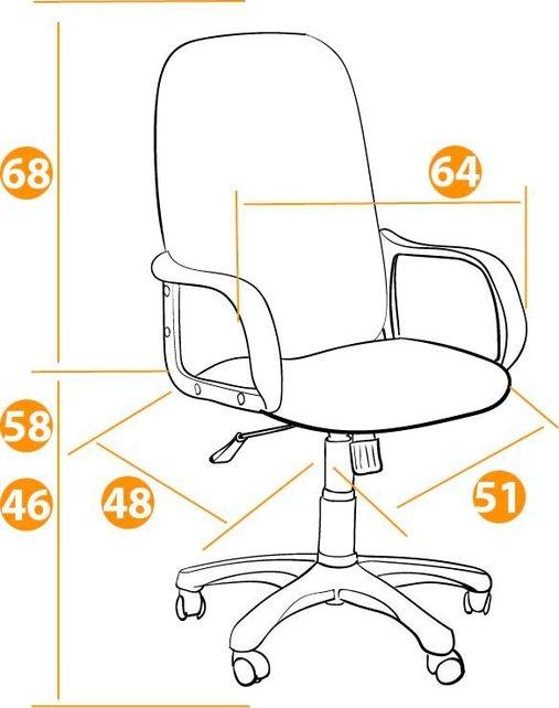 Кресло офисное TetChair Бюро Buro