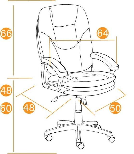 Кресло офисное TetChair Комфорт ЛТ Comfort LT