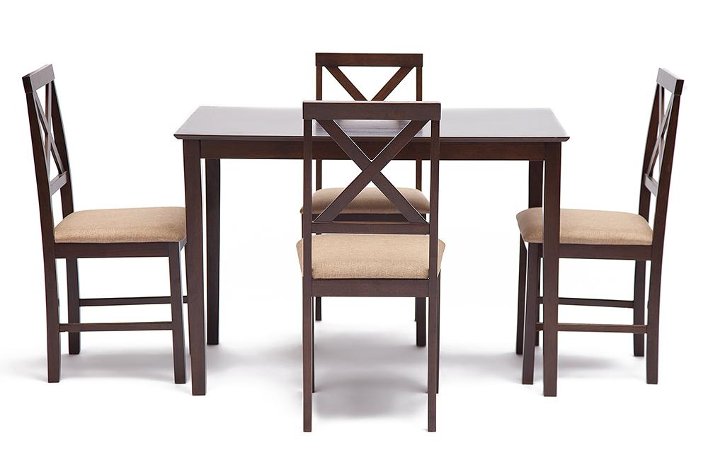 Обеденный комплект Хадсон Hudson стол + 4 стула