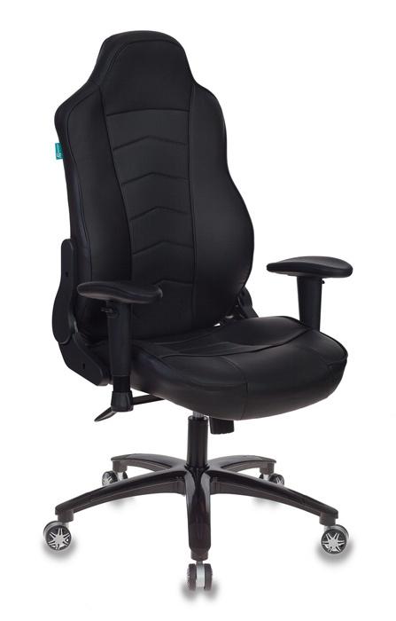 Кресло игровое Бюрократ VIKING-3/BLACK черный искусственная кожа