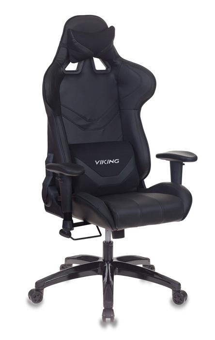 Кресло игровое Бюрократ CH-772N/BLACK две подушки черный искусственная кожа (пластик черный)