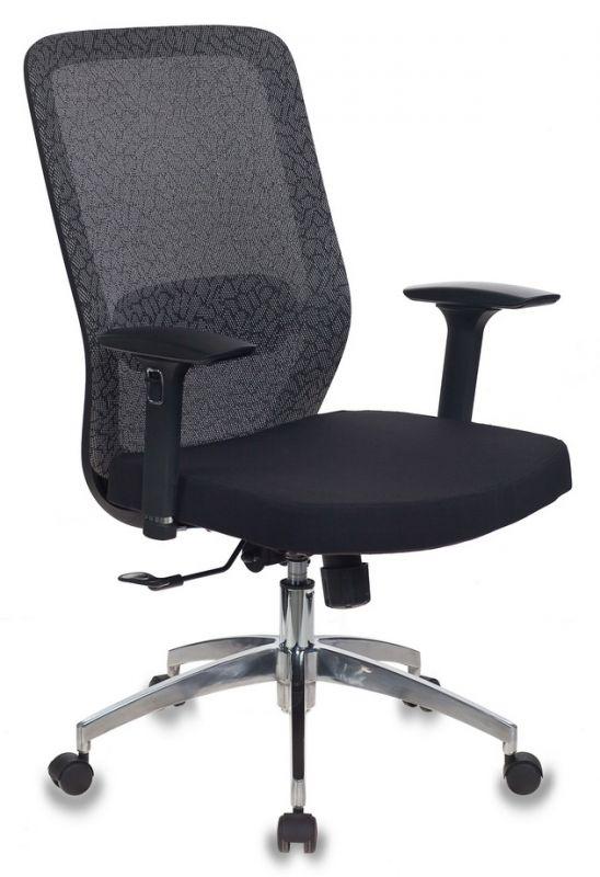 Кресло Бюрократ MC-715/KF-1/26-B01 серый KF-1 сиденье черный сетка/ткань крестовина алюминий