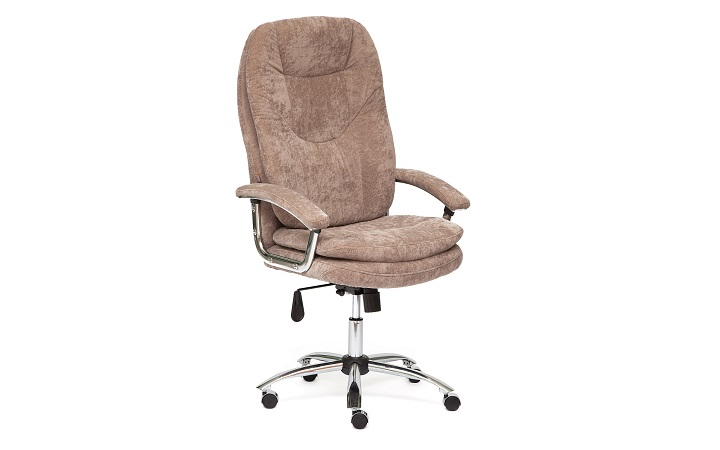 Кресло офисное TetChair Softy Lux chrome Софти Люкс хром