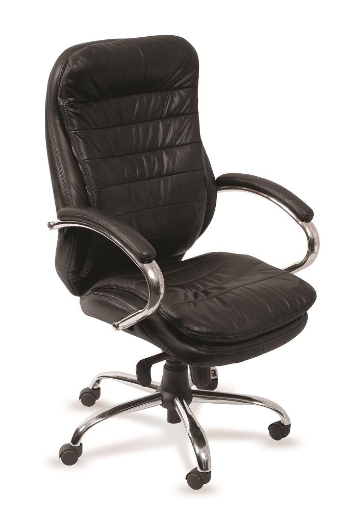 Кресло руководителя Бюрократ T-9950AXSN/BLACK-PU сиденье черный искусственная кожа крестовина хром
