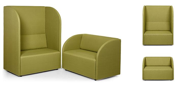 РОСА мягкая мебель с возможностью формирования индивидуальных зон комфорта