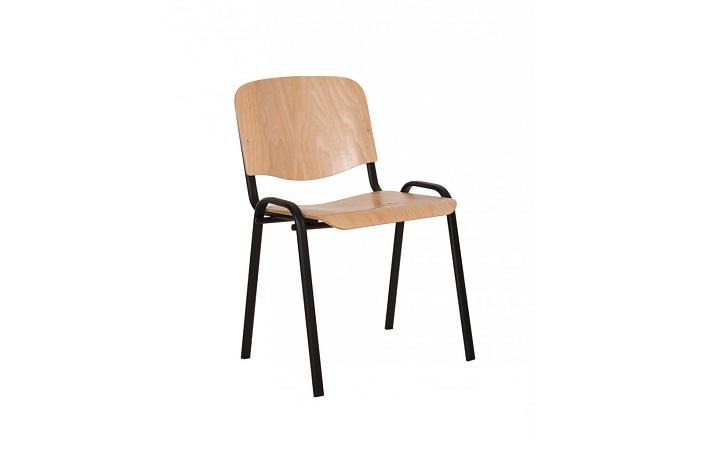 Стулья для посетителей ISO wood black