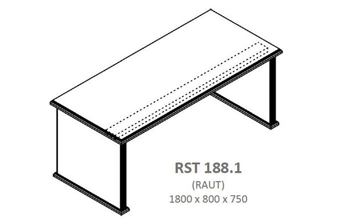 Стол руководителя RAUT RST 188.1