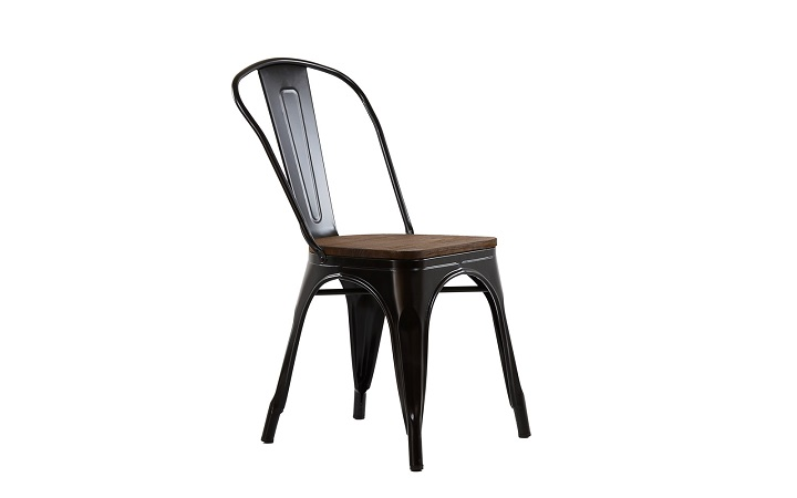 Стул Barneo N-236 Tolix Wood style