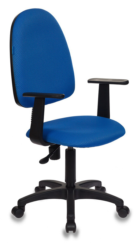 Кресло Бюрократ CH-1300/T-V398-86 синий Престиж+ V398-86