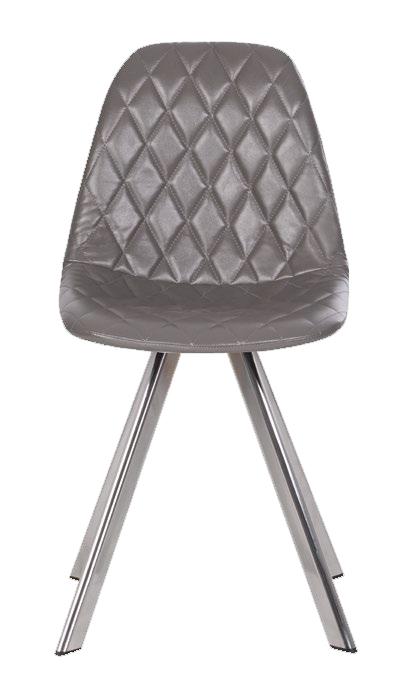 Барный стул LIYA 4L SPIN chrome