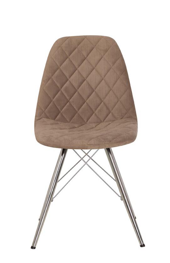 Барный стул LIYA 4LX chrome