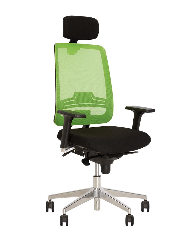 Кресло для персонала ABSOLUTE R HR net black ES AL70