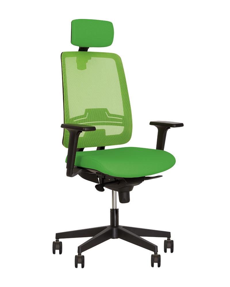 Кресло для персонала ABSOLUTE R HR net black ES PL70