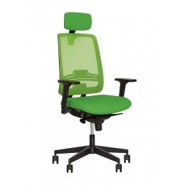 Кресло для персонала ABSOLUTE R HR net black WA ES PL70