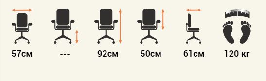 Кресло Riva Chair D801