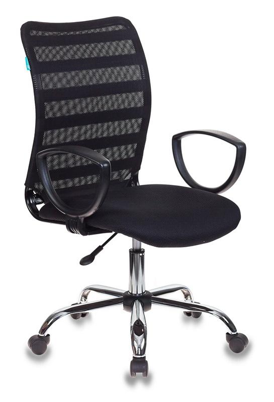Кресло Бюрократ CH-599AXSL/32B/TW-11 спинка сетка черный TW-32K01 TW-11 крестовина хром