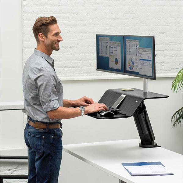 Платформа для работы сидя - стоя Lotus RT Sit-Stand Workstation FS-80816