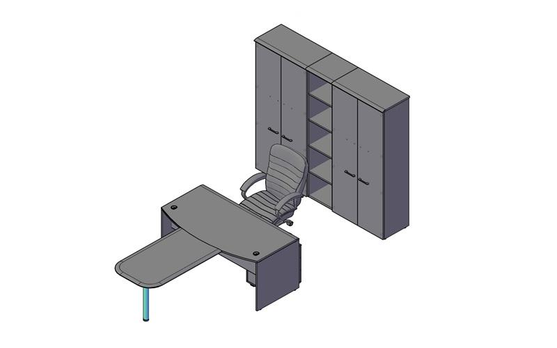 Комплект оперативной мебели WAVE 2