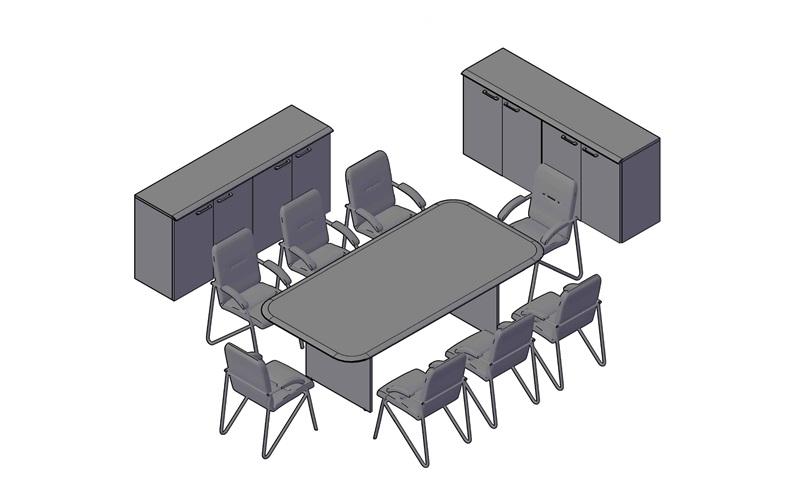 Комплект оперативной мебели WAVE 3
