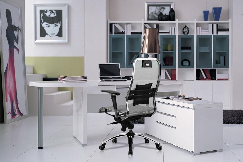 Кресла Samurai стильно впишутся в кабинет руководителя