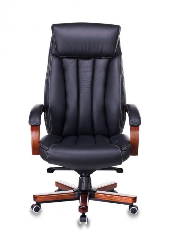 Кресло руководителя Бюрократ T-9922WALNUT