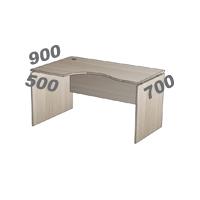 Стол криволинейный Континент-PRO СК140L