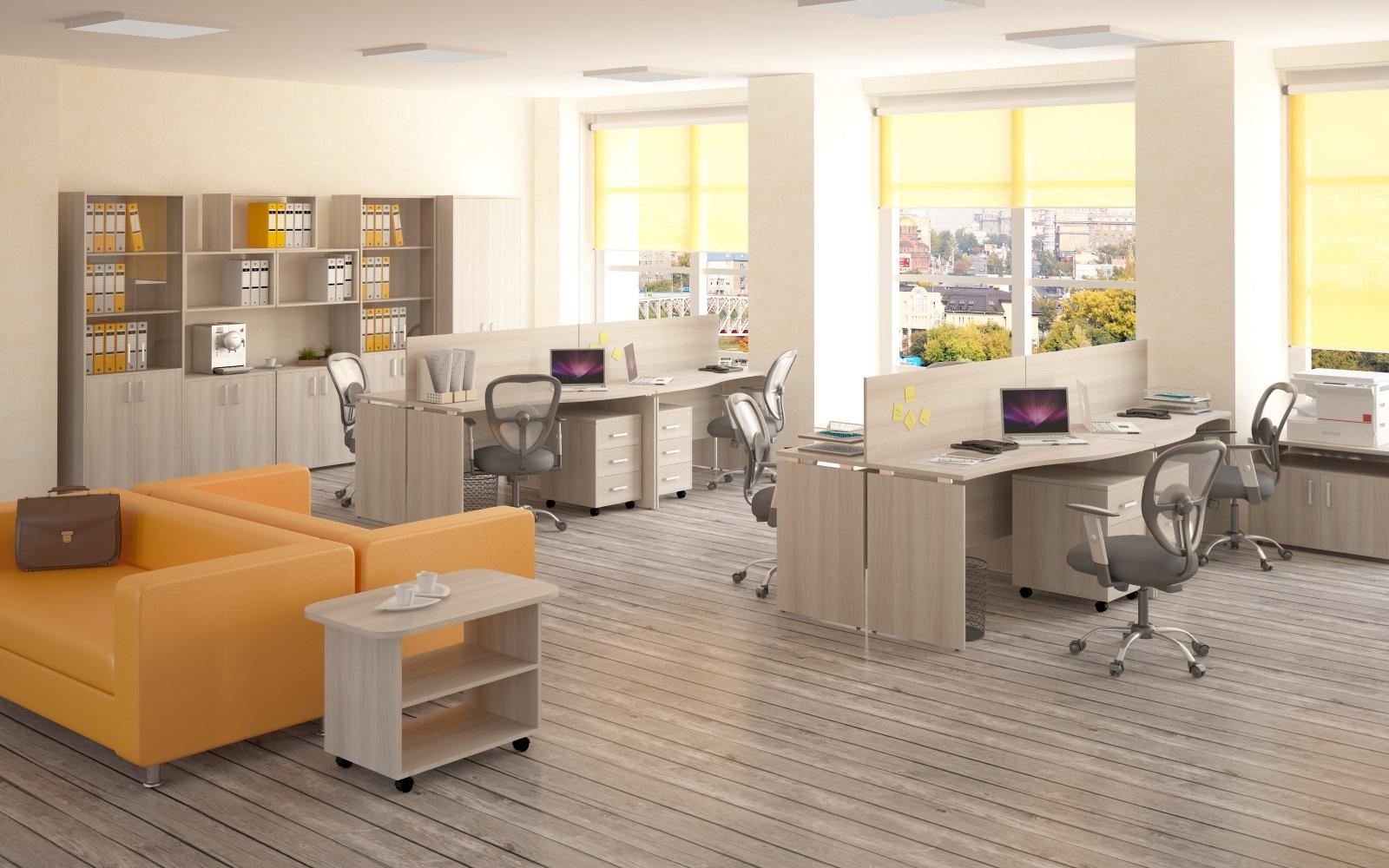 Мебель для персонала серия Континент-PRO