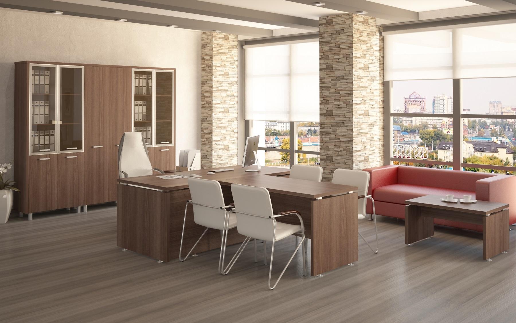 Комплект офисной мебели ПРЕЗИДЕНТ-PRO