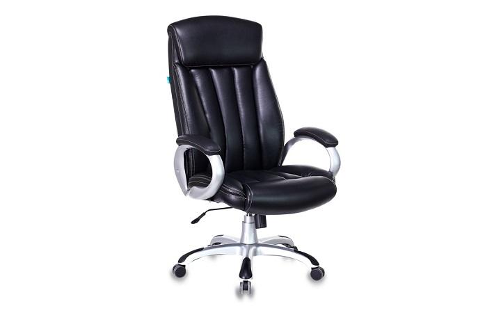 Кресло руководителя Бюрократ T-9922/BLACK-PU