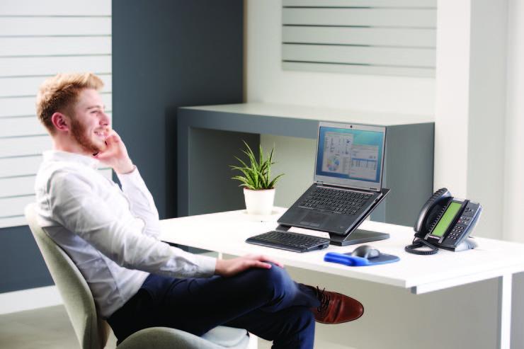 Комфорт на рабочем месте - современные решения Fellowes