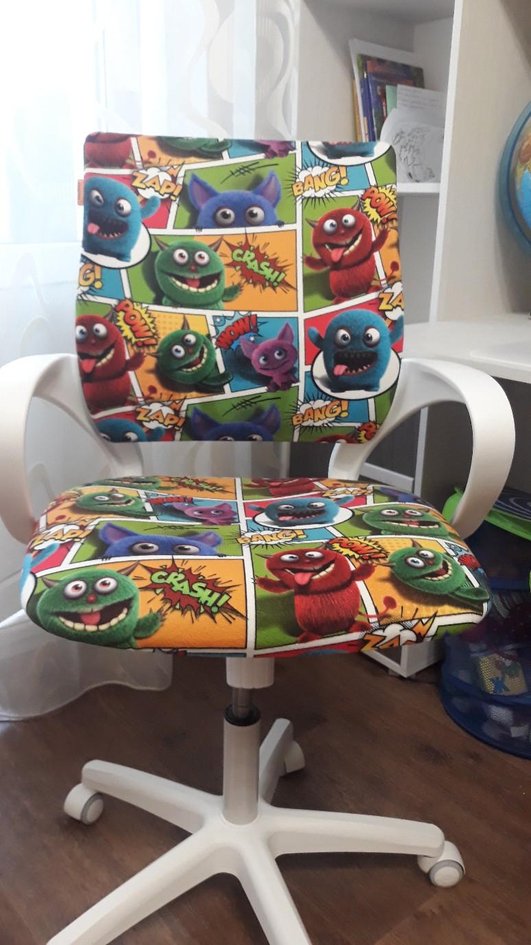 Отзыв на кресло для детских комнат CHAIRMAN KIDS 103 от очаровательной Ирины