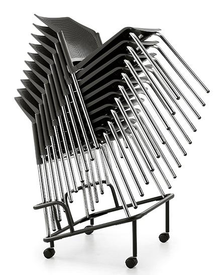 Штабелируемые стулья и кресла Replay D, D+, E