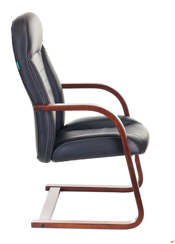Кресло для посетителя Бюрократ T-9923WALNUT-AV