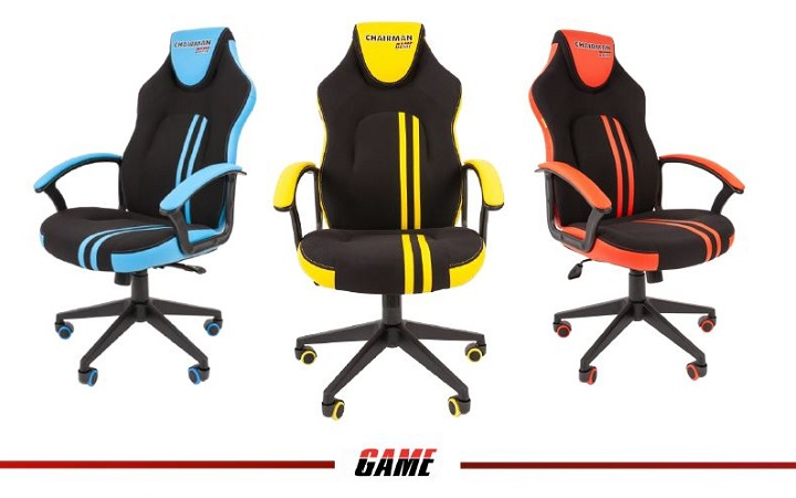 CHAIRMAN GAME 26 по-спортивному подтянутое и яркое новое кресло