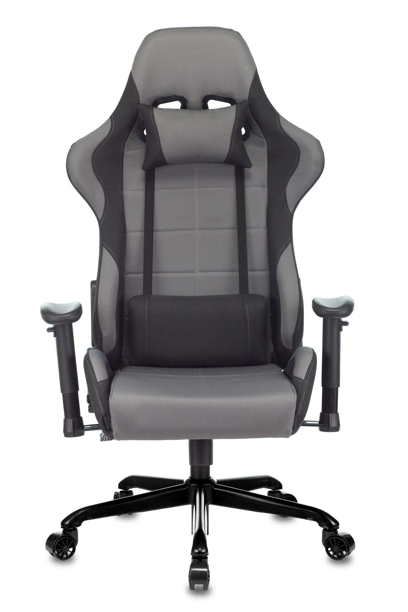 Кресло игровое Бюрократ 771N - Серый grey